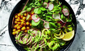 Enrich Your Soba Noodle Salad By Making Green Goddess ..