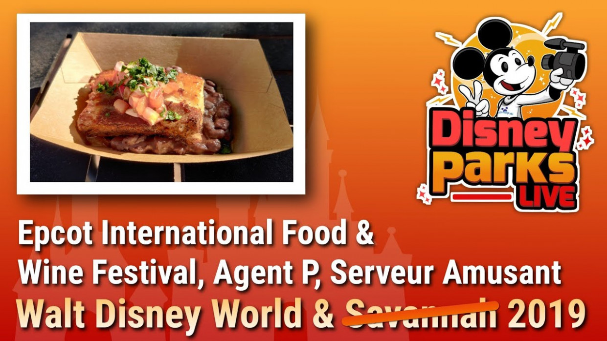 Epcot International Food & Wine Festival, Agent P & Serveur Amusant | Walt  Disney World 12 - recipes epcot food wine festival