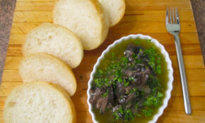 """Escargots Bourguignon"" (Snails In Garlic–Herb Butter)  @ Home By Hans Susser – Recipes Easy Dinner Party"