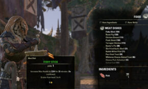 ESO | The Last Chapter Gaming Blog – Food Recipes Eso