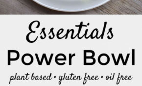 Essentials Power Bowl W/ Tahini Lime Drizzle – Recipes Vegetarian Meal Prep