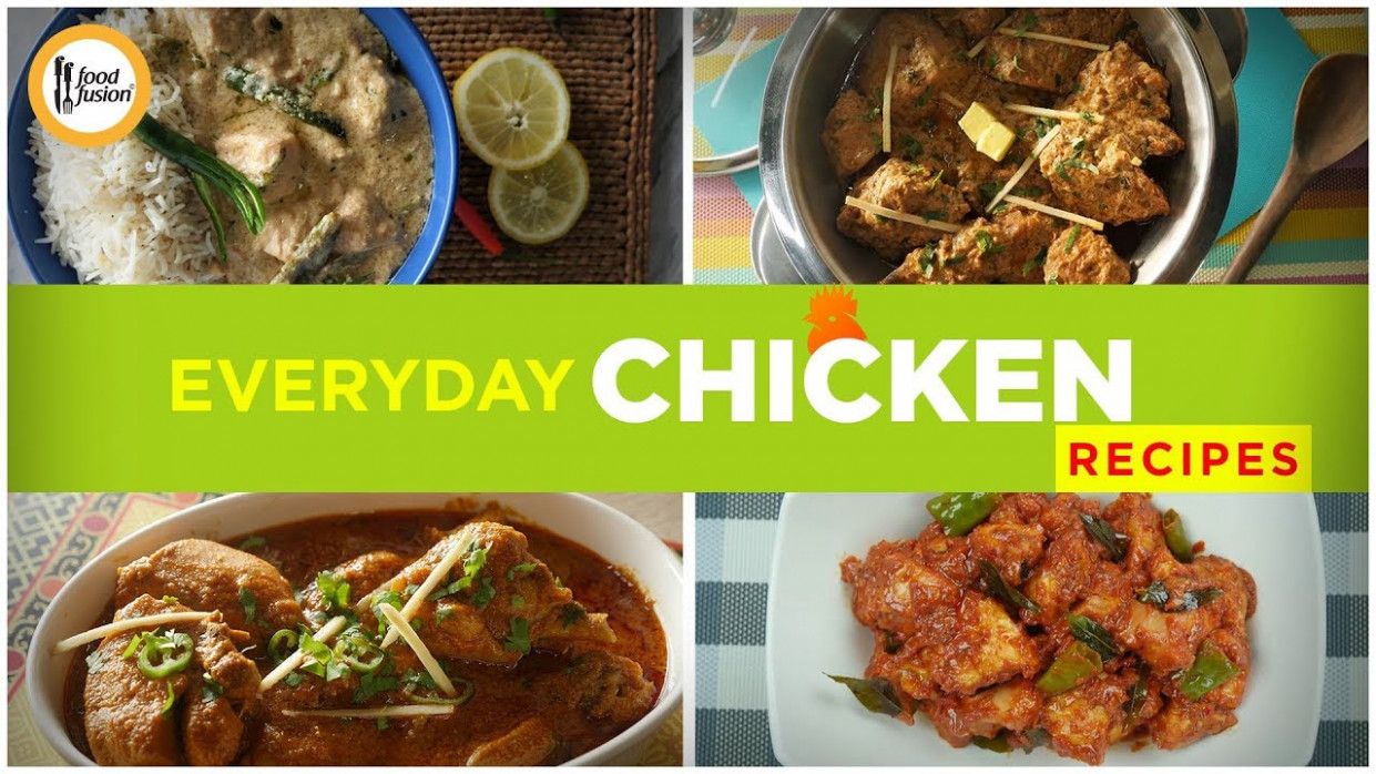 Everyday Chicken Recipes By Food Fusion - Bvi Restaurant Guide - Food Fusion Recipes Chicken