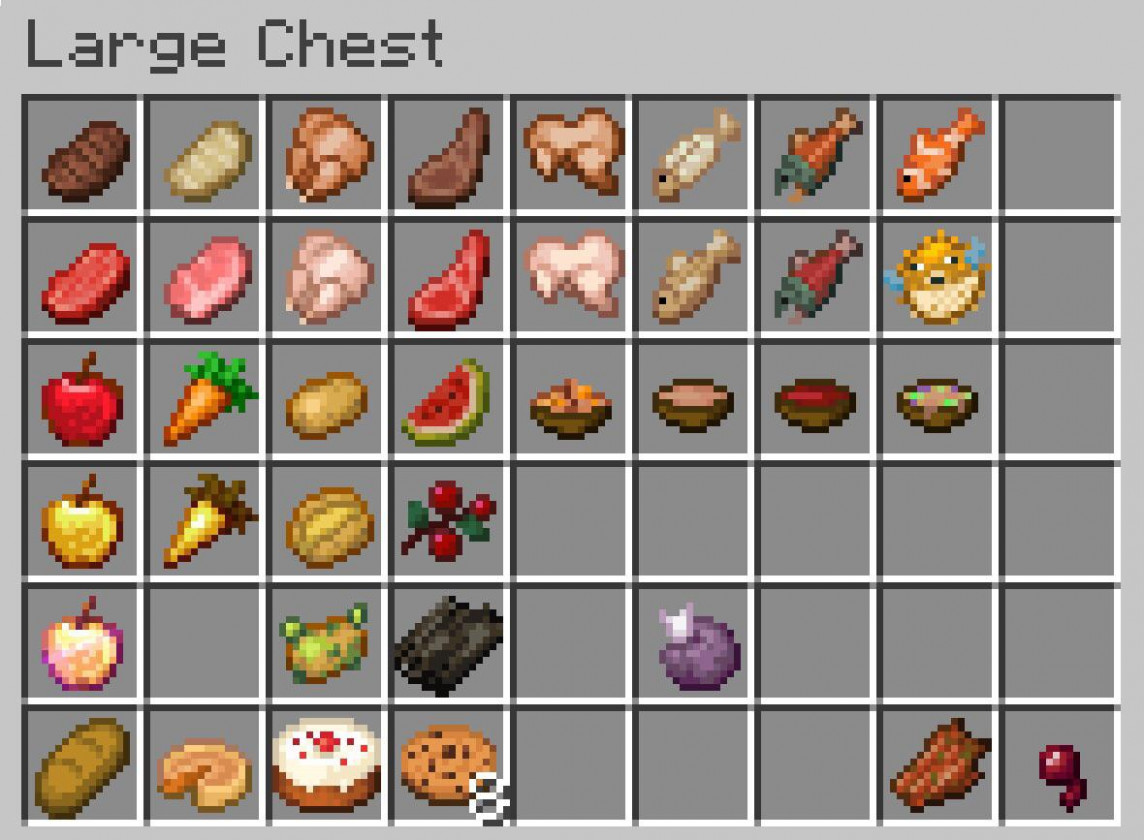 Everything Edible : Minecraft - Food Recipes In Minecraft