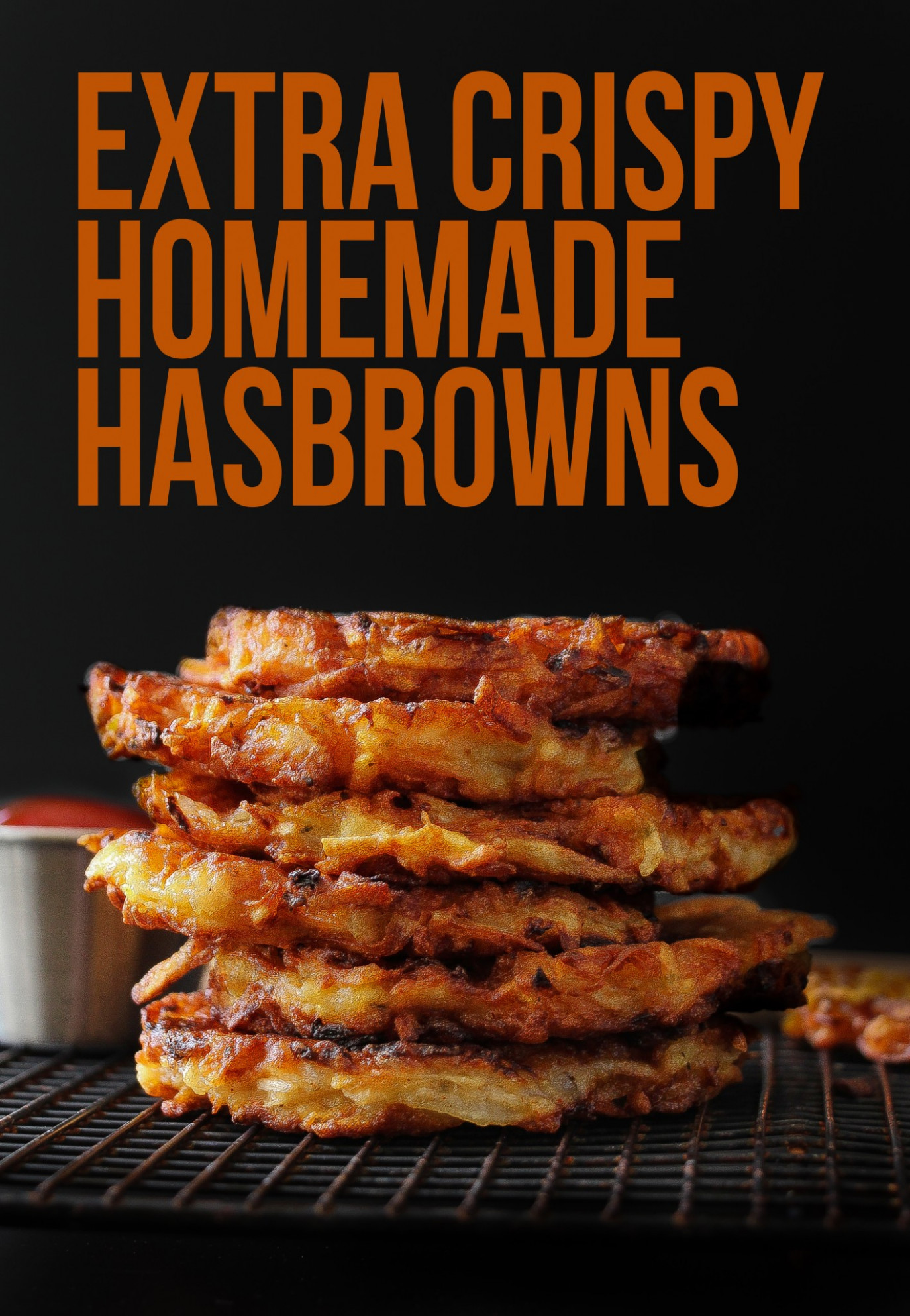 Extra Crispy Restaurant Style Hashbrown Patties - Dinner Recipes Using Frozen Hash Browns