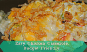 EYC: Chicken Casserole Recipe! Quick To Make & Easy On The ..