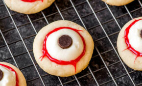 Eyeball Cookies – Homemade Hooplah – Chicken Recipes For Crock Pot