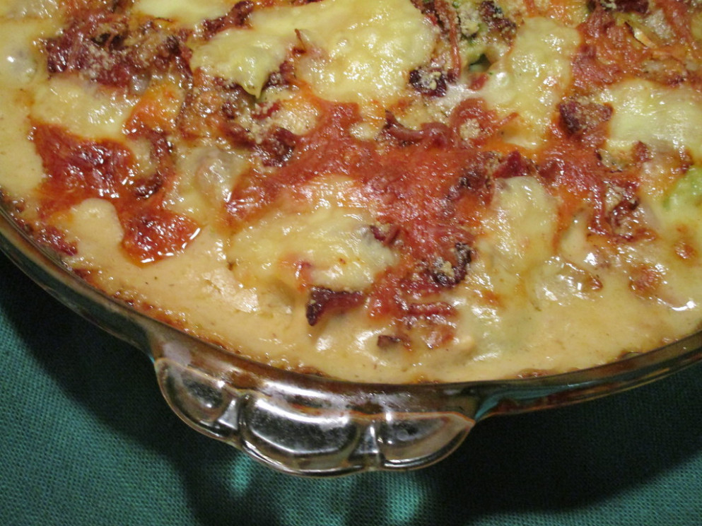 Fab Dinner: Bacon Cheese Broccoli Casserole - recipes dinner this week