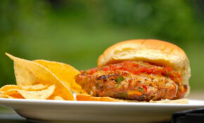 Fajita Turkey Burger. Looks Easy And Comprises Ingredients ..