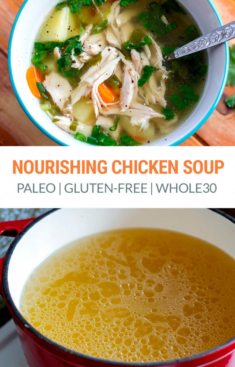 Fall Off The Bone Chicken Soup Recipe - recipes soup with chicken