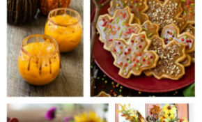 Fall Party Appetizers – The Best Party Foods For Fall – Easy Finger Food Recipes For A Crowd