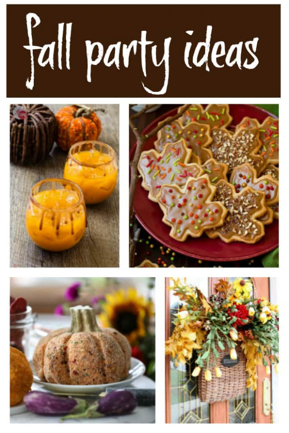 Fall Party Appetizers - The Best Party Foods for Fall - easy finger food recipes for a crowd