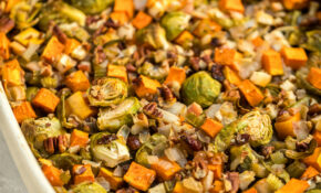 Fall Roasted Vegetable Casserole – From My Bowl – Recipes Vegetable Casseroles Healthy