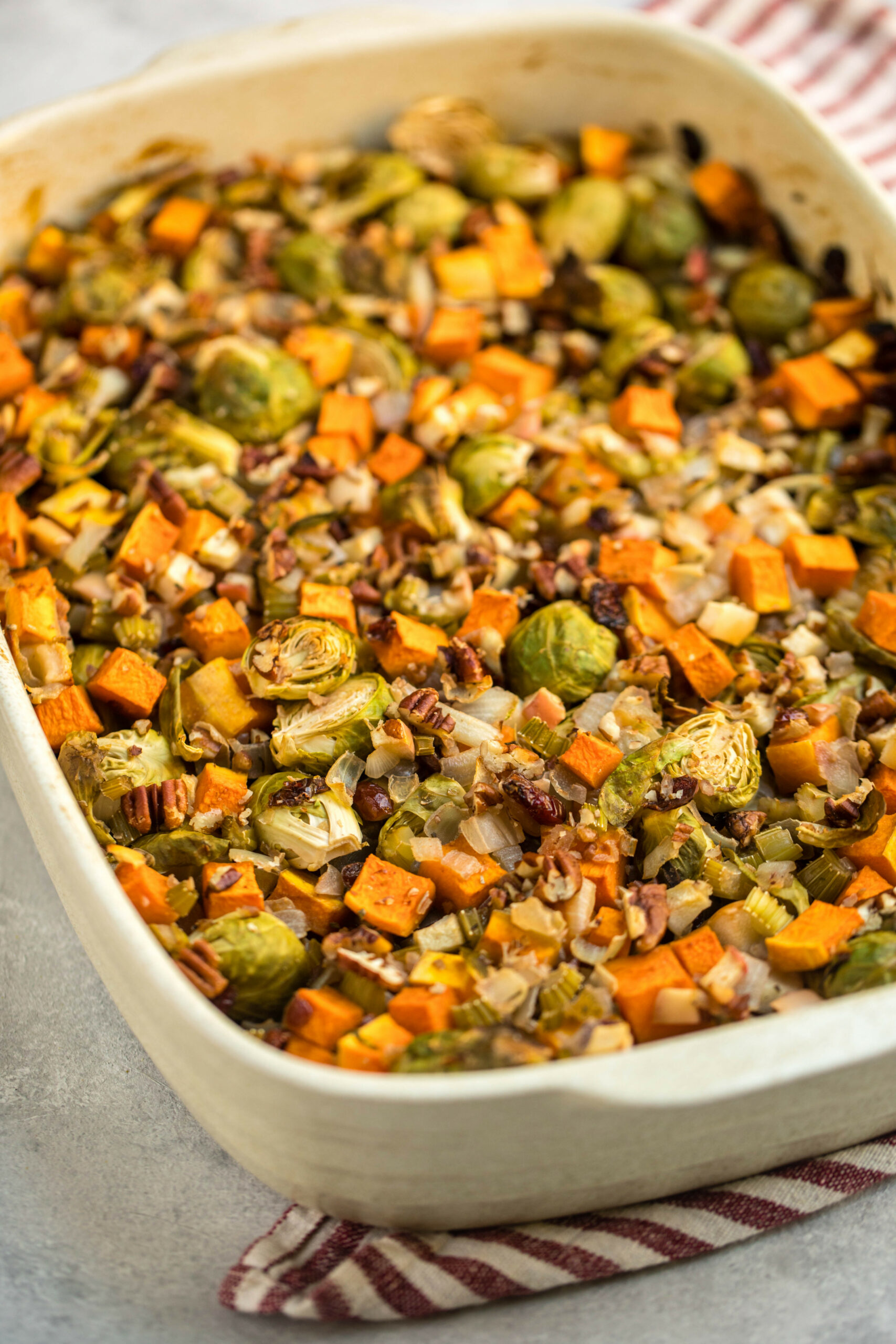 Fall Roasted Vegetable Casserole - From My Bowl - recipes vegetarian casseroles