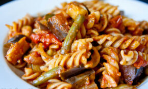 Fall Vegetable Pasta With Zucchini, Eggplant & Green Beans ..