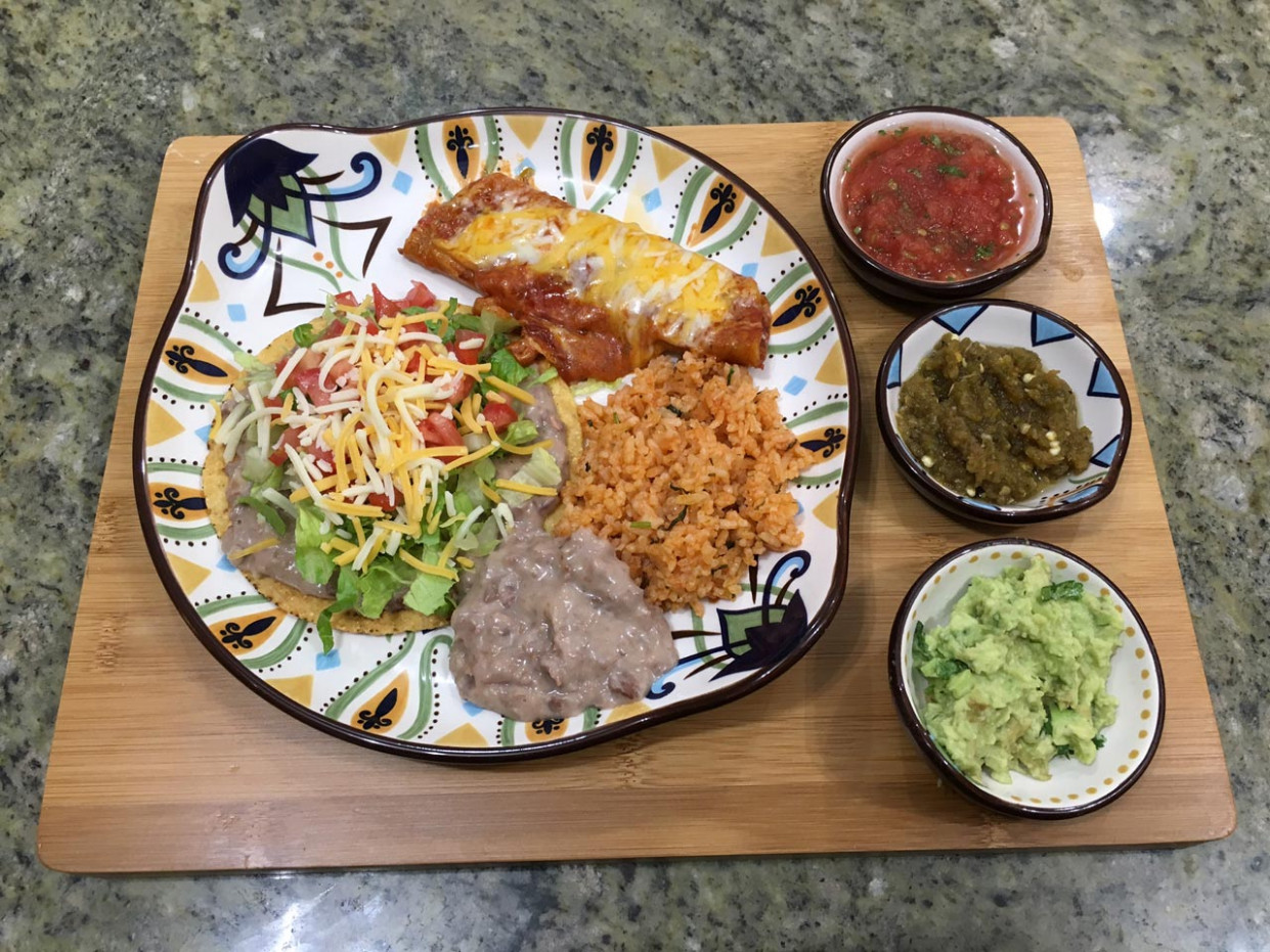 Family Dinner With Mexican Cuisine Manjula14s Kitchen Indian ..