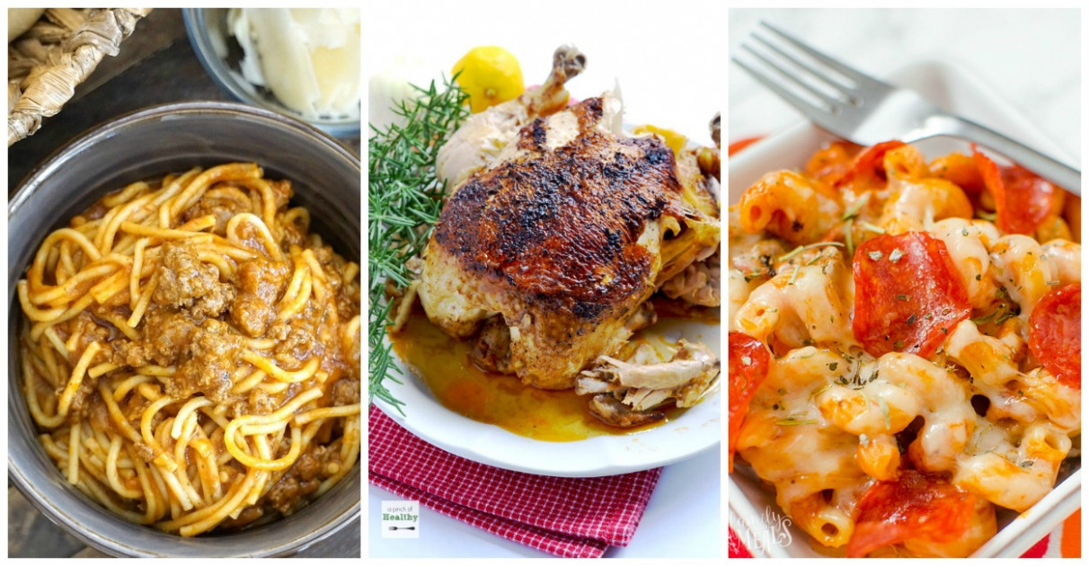Family Friendly Instant Pot Meals - Family Fresh Meals - dinner recipes instant pot