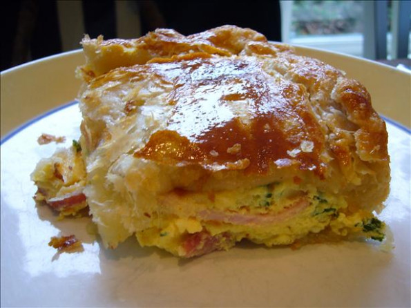 Famous New Zealand Bacon And Egg Pie Recipe - Food