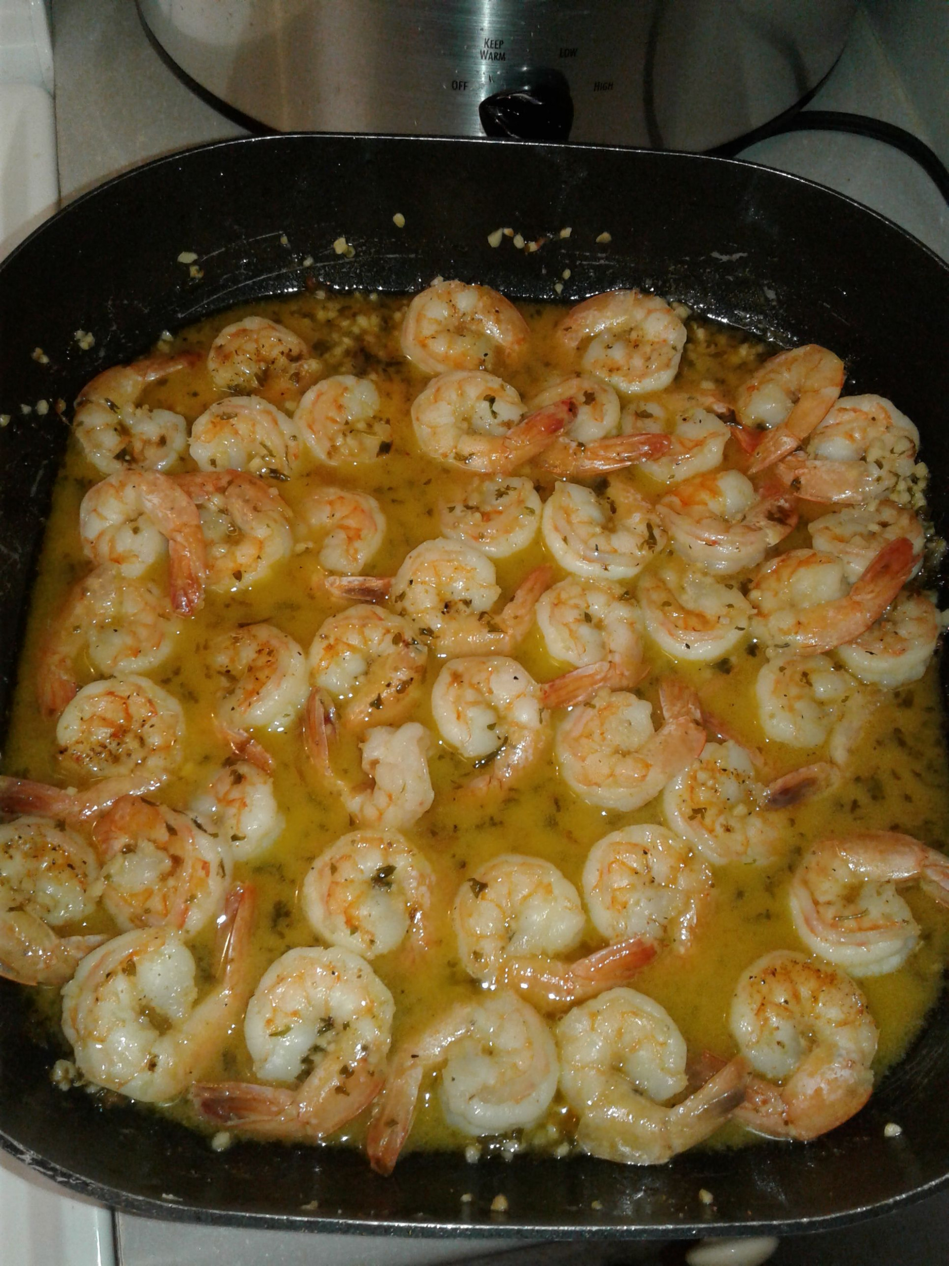 Famous Red Lobster Shrimp Scampi - food recipes with shrimp