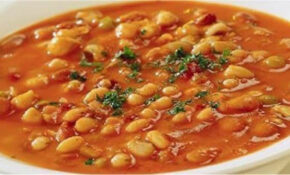 Fasolada Vegetarian Greek Bean Soup Recipe | Just A Pinch ..
