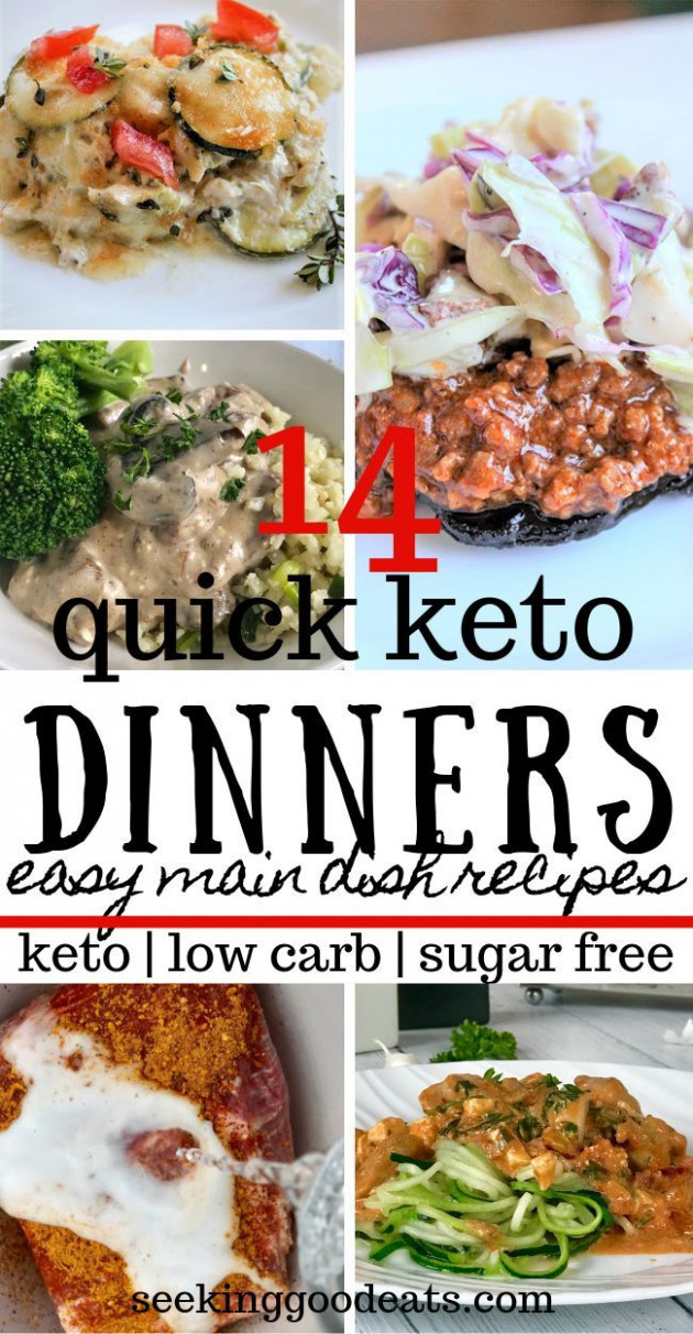 Fast and Easy Keto Dinner Ideas (Lazy Keto Meals for Busy ..