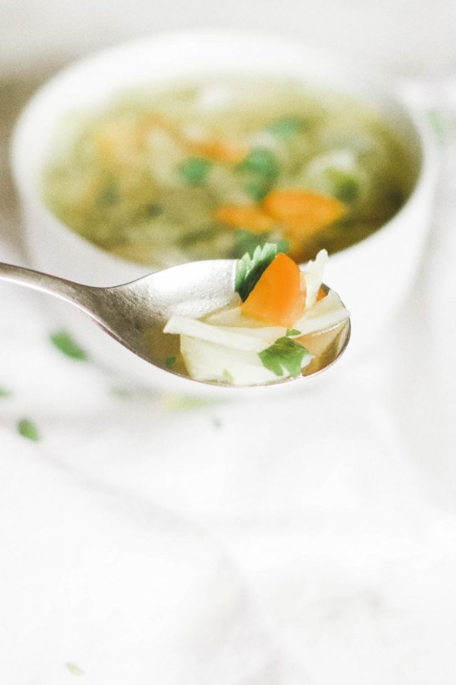 Fat Burning Cabbage Soup (GF, Keto, Paleo, Whole 30, and ..