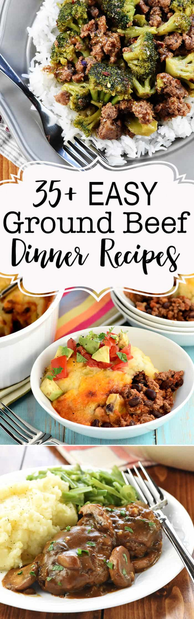 Favorite* QUICK & EASY Ground Beef Dinner Recipes ..