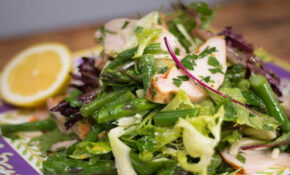 Fennel, Green Beans, Asparagus And Smoked Chicken Salad ..