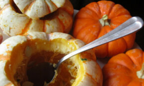Festive Fall Dinner, Stuffed Baby Pumpkins, Removing Seeds – Good Easy Recipes Dinner