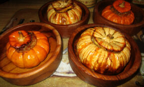 Festive Fall Dinner, Stuffed Baby Pumpkins With Sausage, Cheese, Walnuts, & Rice – Recipes Using Baby Food