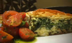 Feta And Spinach Pie In Filo Pastry | Season's Eatings – Recipes Using Filo Pastry Vegetarian