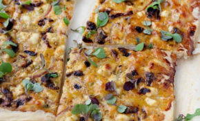 Feta And Sun Dried Tomato Tart – Recipes Using Filo Pastry Vegetarian