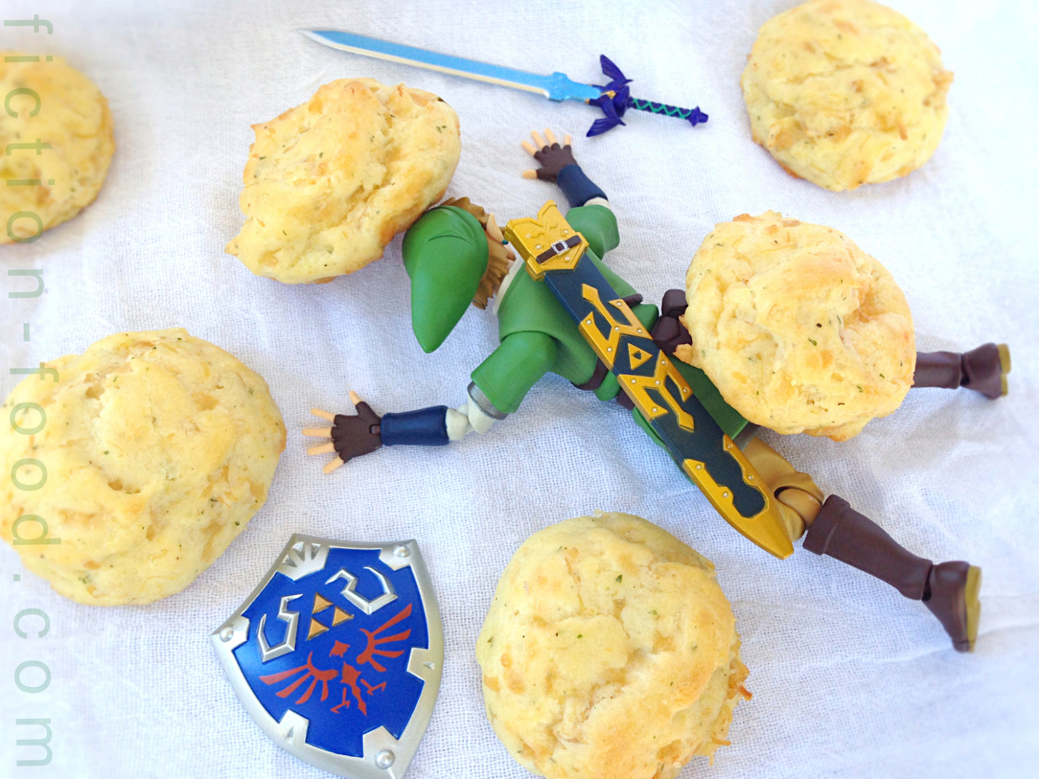 "Fiction Food Café: Cucco Puffs For ""The Legend Of Zelda"" Games - Legend Of Zelda Food Recipes"