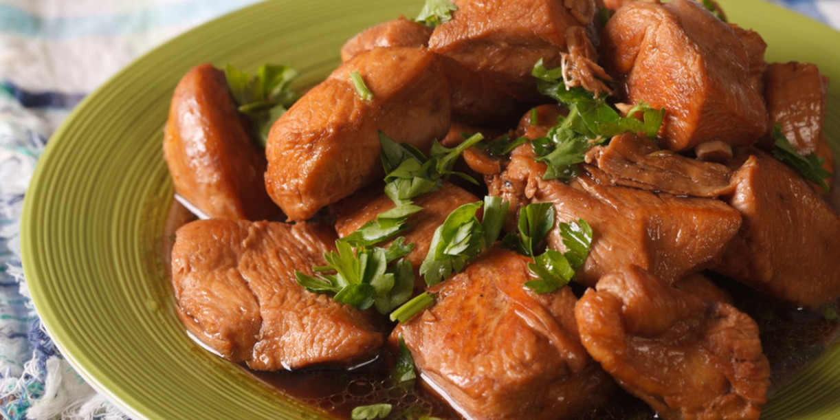 "Filipino ""Adobo""-Style Chicken - chicken recipes easy pinoy"