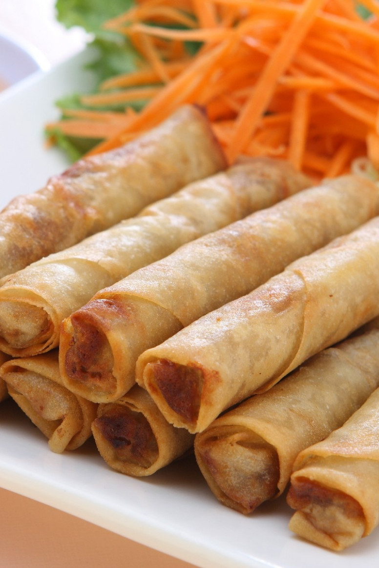 Filipino Lumpia Recipe — Dishmaps - recipes pinoy food