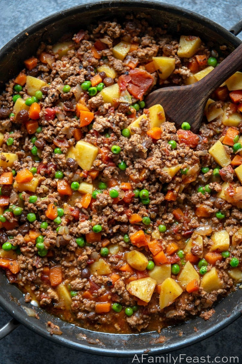 Filipino Picadillo - A Family Feast® - keto filipino food recipes