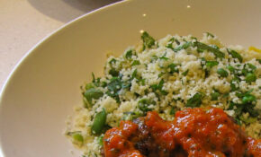 Finally Ottolenghi – Turkey Meatballs And Roast Capsicum ..