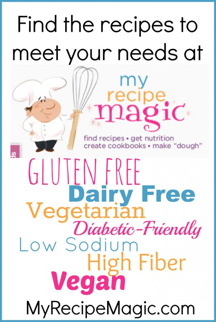 Find Thousands Of Recipes That Are Gluten Free, Dairy Free ..