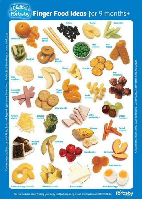 Finger foods | Breastfeeding - Starting Solids | Baby ..
