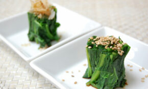 Fiona's Japanese Cooking: Healthy Japanese Spinach Salad ..