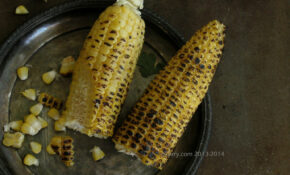 Fire Roasted Corn 1 – Indian Lunch Recipes Vegetarian