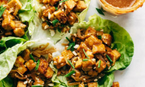 Firecracker Vegan Lettuce Wraps – Urban Vegetarian Recipes