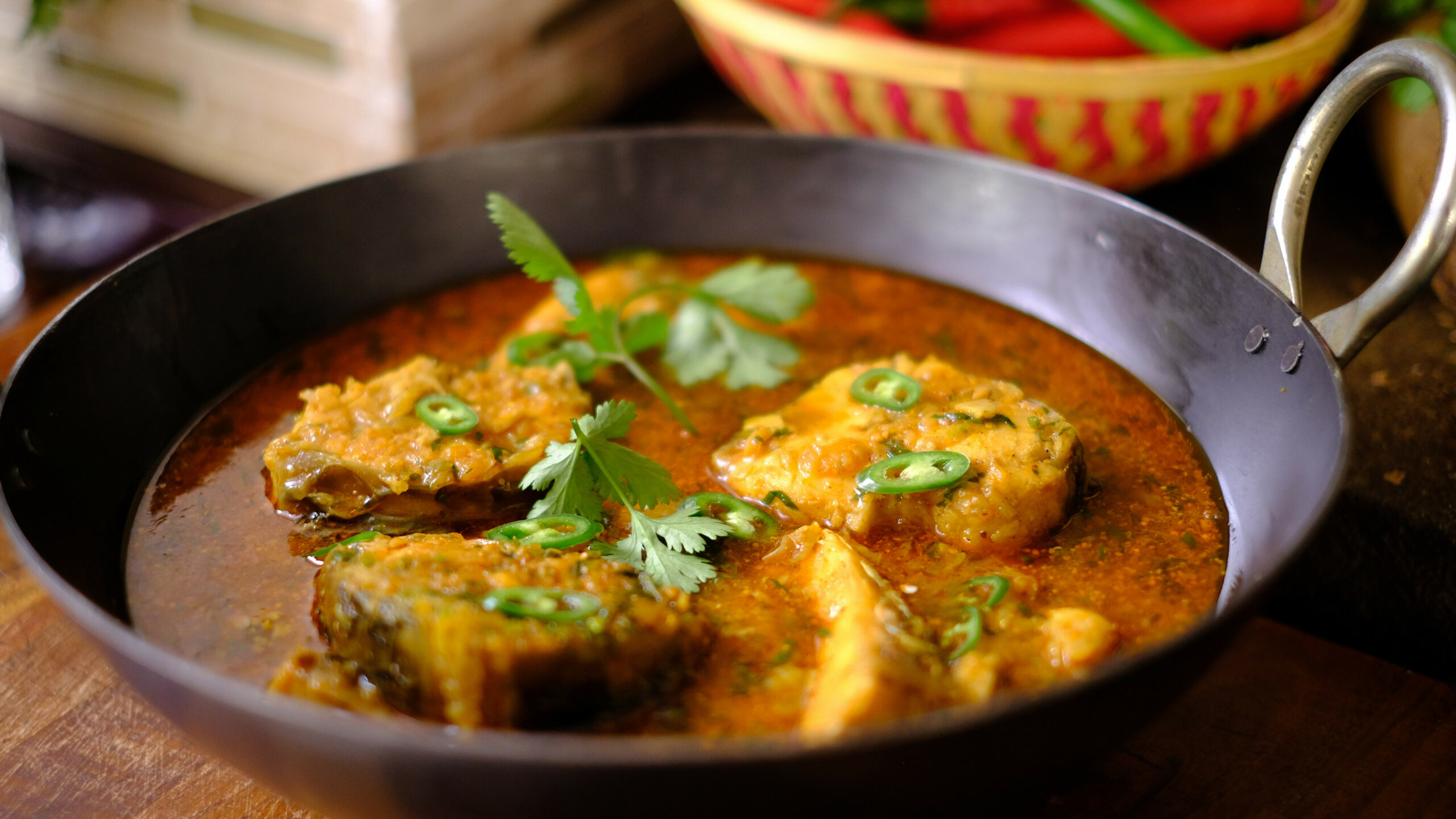 Fish curry - indian dinner recipes vegetarian
