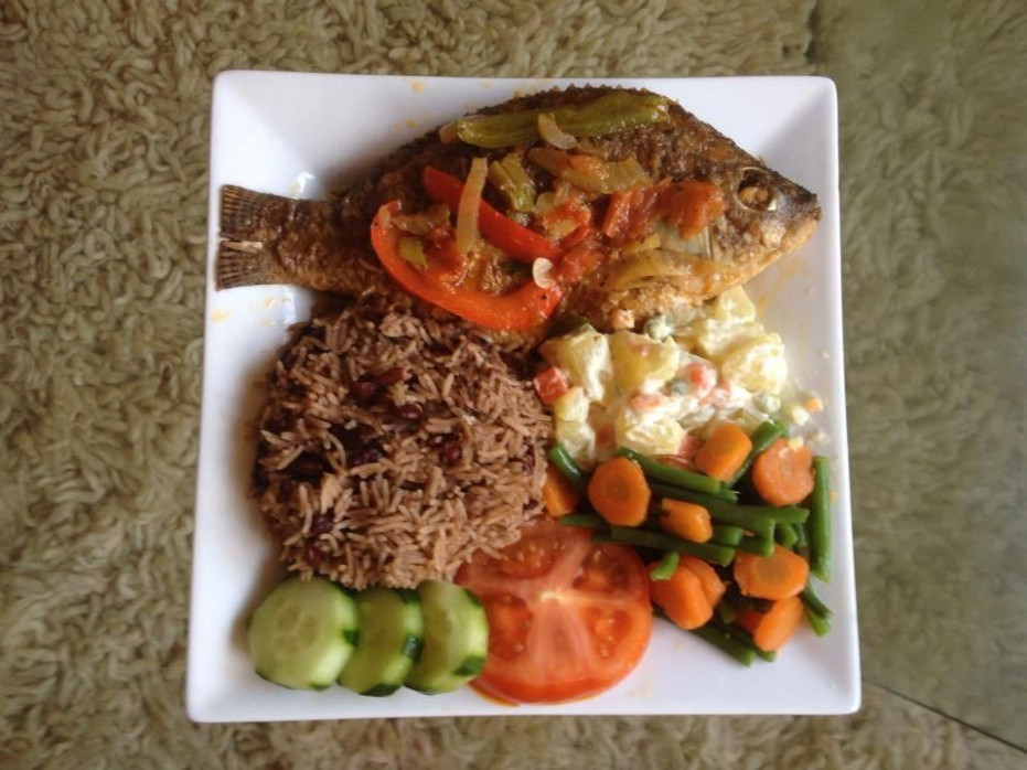 Fish Dinner, Jamaican Style | Jamaica Style | Fish Recipes ..