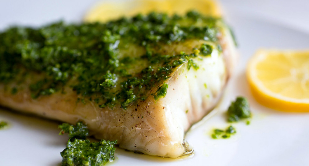 Fish Fillet with Chermoula - chicken recipes pinterest