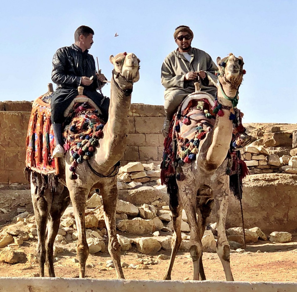 Fit Fathers Nomadic Journey to Egypt