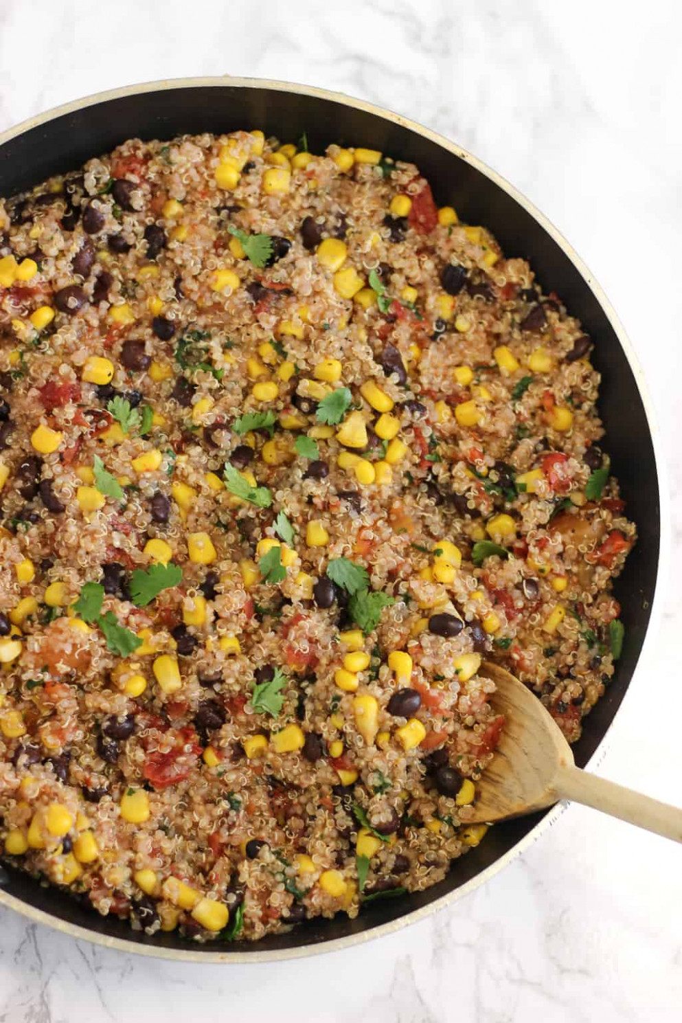 Five-Ingredient One-Pan Mexican Quinoa - www