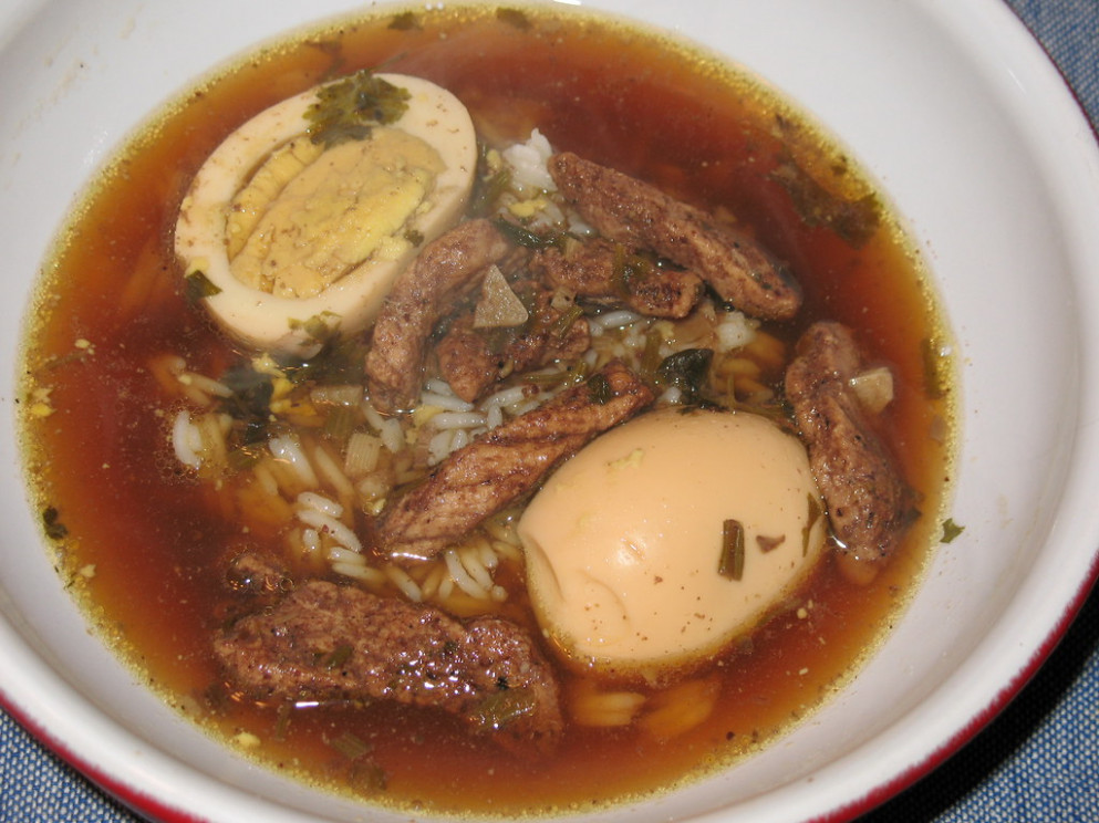 Five-Spice Stew with Hard-Boiled Eggs and Pork (kai pa-loh) - recipes leftover chicken