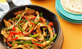 Flavorful Chicken Fajitas Recipe | Taste Of Home – Chicken Recipes At Home