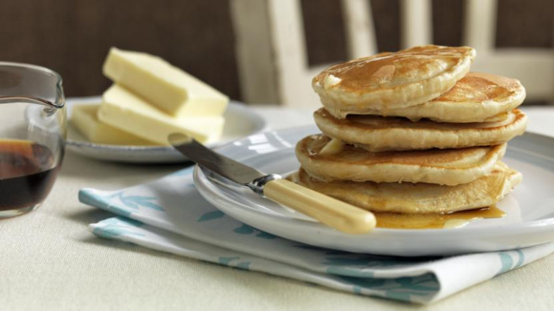 Fluffy American pancakes recipe - BBC Food - recipes bbc food