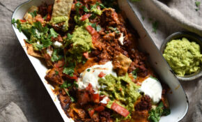 FODMAP Friendly Vegetarian Nachos With Chilli, Queso And ..